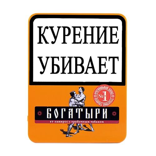 Богатыри - Бленд №1 - Вишня (портсигар 17 шт.)