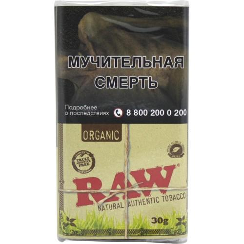 Сигаретный табак Mac Baren - RAW - Organic 30 гр.