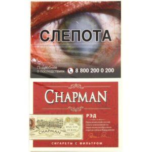 Сигареты Chapman Super Slim Red