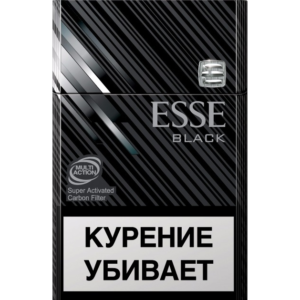 Сигареты Esse - Black - Carbon Filter