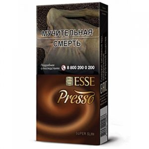 Сигареты Esse - Coffe Flavor-PRESSO