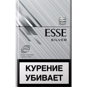 Сигареты Esse - Silver - Carbon Filter