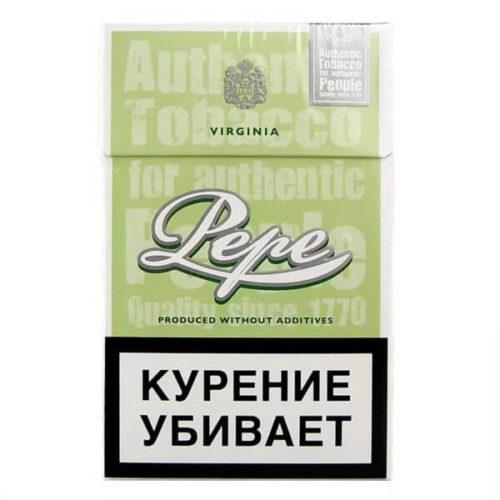 Сигареты Pepe Fine Green