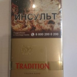 Сигареты Tradition Gold Germany Super Slim