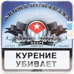 Сигариллы Aroma de Habana Grape