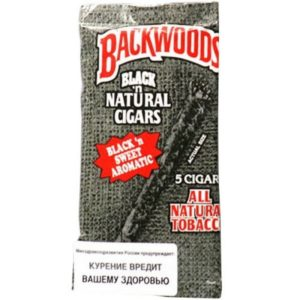 Сигариллы Backwoods Black and Sweet Aromatic (5 шт)
