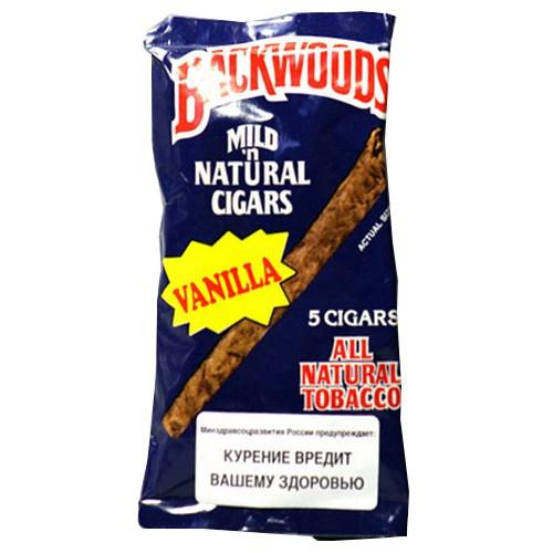Сигариллы Backwoods Vanilla (5 шт)