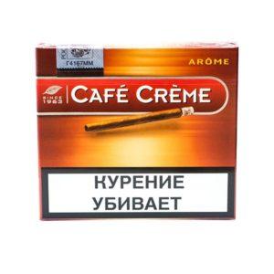Сигариллы Cafe Creme Arome - картонная пачка