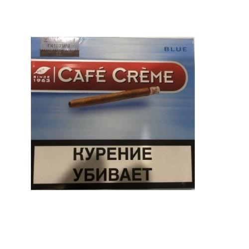 Сигариллы Cafe Creme Blue - картонная пачка