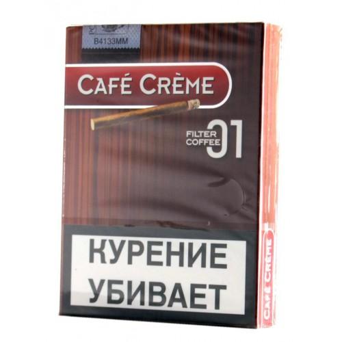 Сигариллы Cafe Creme Filter Coffee №1