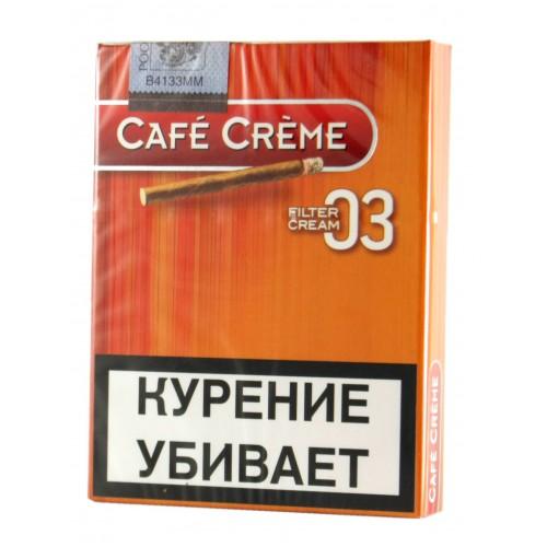 Сигариллы Cafe Creme Filter Cream №3