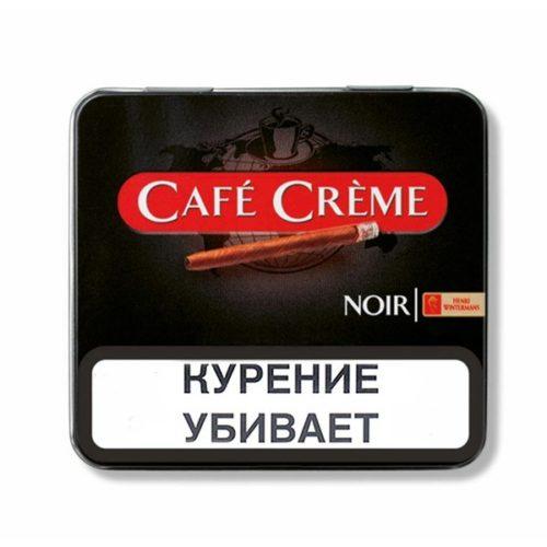 Сигариллы Cafe Creme Noir - картонная пачка
