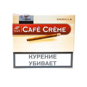 Сигариллы Cafe Creme Vanilla - картонная пачка