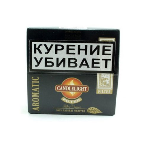 Сигариллы Candlelight Filter Aromatic 50 шт.
