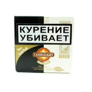 Сигариллы Candlelight Filter Assorty Coconut - Aromatic 50 шт.
