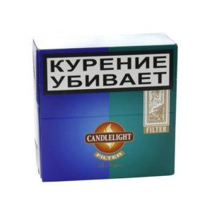 Сигариллы Candlelight Filter Assorty Sumatra - Menthol 50 шт.