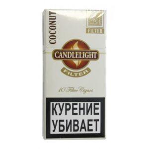 Сигариллы Candlelight Filter Coconut (10 шт)