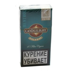Сигариллы Candlelight Filter Menthol (10 шт)