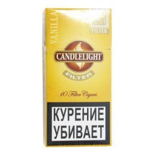 Сигариллы Candlelight Filter Vanilla (10 шт)