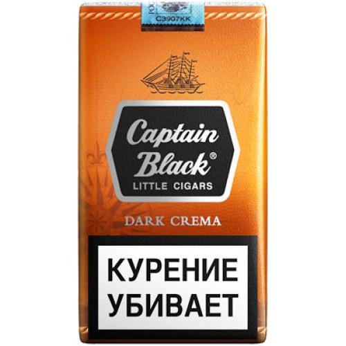 Сигариллы Captain Black Dark Crema (Доминиканская республика)