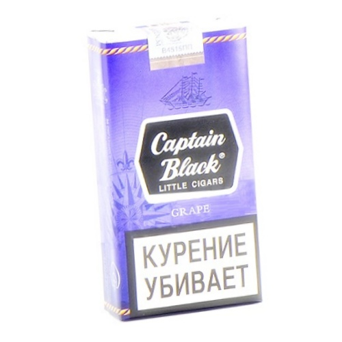 Сигариллы Captain Black Grape (Доминиканская республика)