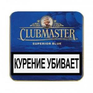 Сигариллы Clubmaster Mini Blue 10 шт.