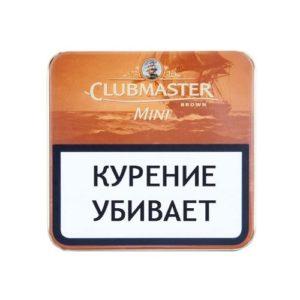 Сигариллы Clubmaster Mini Brown 10 шт.