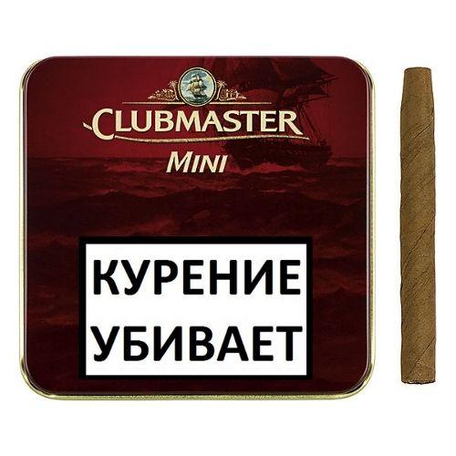 Сигариллы Clubmaster Mini Red 10 шт