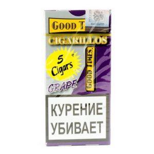 Сигариллы Good Times Cigarillos Grape (5 шт)