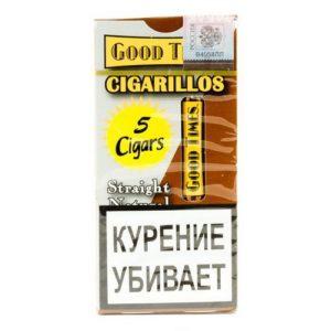 Сигариллы Good Times Cigarillos Straight Natural (5 шт)
