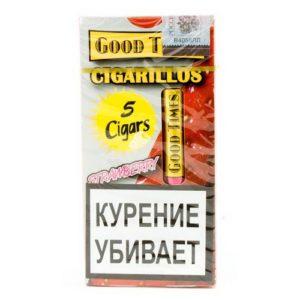 Сигариллы Good Times Cigarillos Strawberry (5 шт)