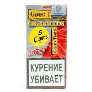 Сигариллы Good Times Cigarillos Sweet (5 шт)