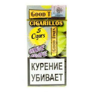 Сигариллы Good Times Cigarillos White Grape (5 шт)