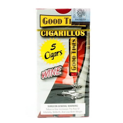 Сигариллы Good Times Cigarillos Wine (5 шт)