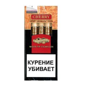 Сигариллы Handelsgold Cherry Wood Tip Red