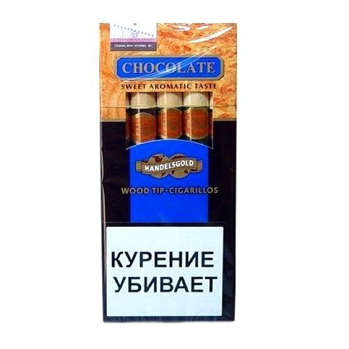 Сигариллы Handelsgold Chocolаte Wood Tip Cigarilos