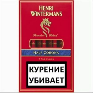 Сигариллы Henri Wintermans Half Corona 5 шт