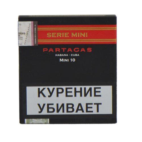 Сигариллы Partagas Serie Mini