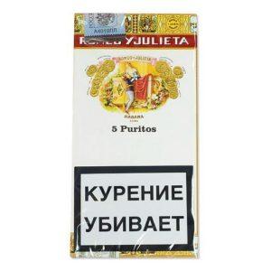 Сигариллы Romeo&Julieta Puritos (5 шт)