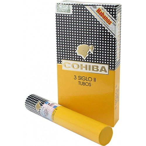Сигары Cohiba Siglo II Tubos 3 штук