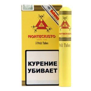 Сигары Montecristo Petit Tubos - 3 шт.