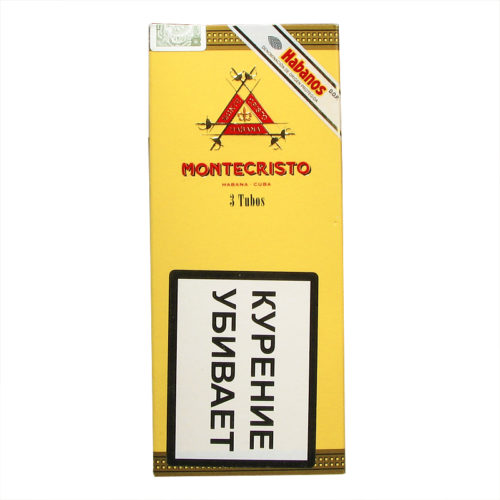 Сигары Montecristo Tubos 3 шт.