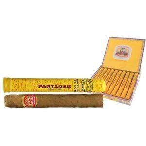 Сигары Partagas De Luxe tubos 10 штук