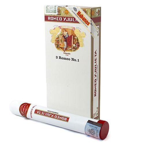 Сигары Romeo y Julieta No 1 Tubos - 3 шт.