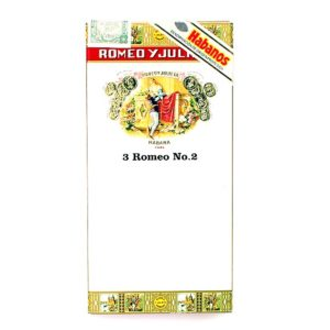Сигары Romeo y Julieta No 2 Tubos - 3 шт.