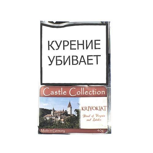 ТАБАК CASTLE COLLECTION - KRIVOKLAT (КИСЕТ 40 ГР)