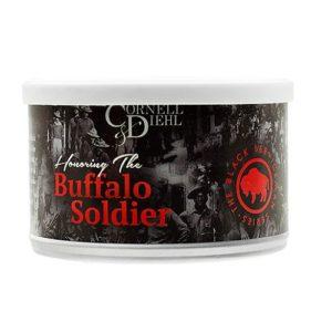 ТАБАК CORNELL & DIEHL TINNED BLENDS BUFFALO SOLDIER 57 ГР.