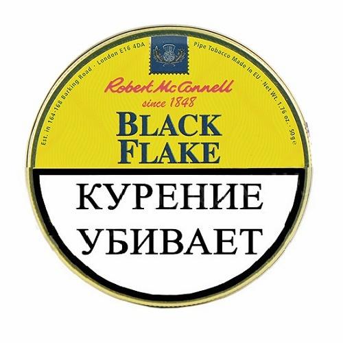 ТАБАК ROBERT MCCONNELL - HERITAGE - BLACK FLAKE (50 ГР)