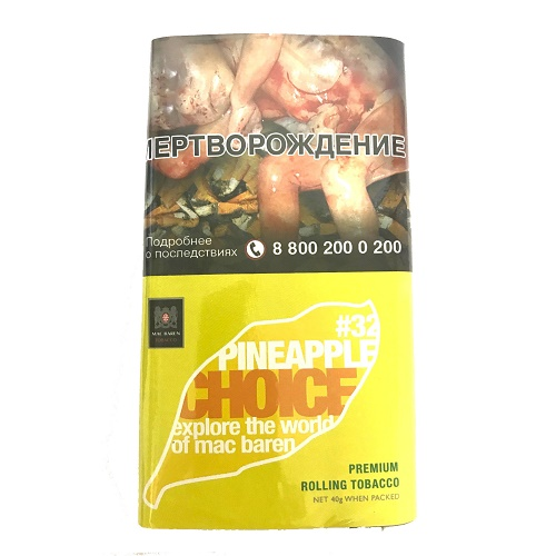 Табак для сигарет Mac Baren Pineapple Choice #32