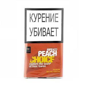 Табак для сигарет Mac Baren Ripe Peach Choice